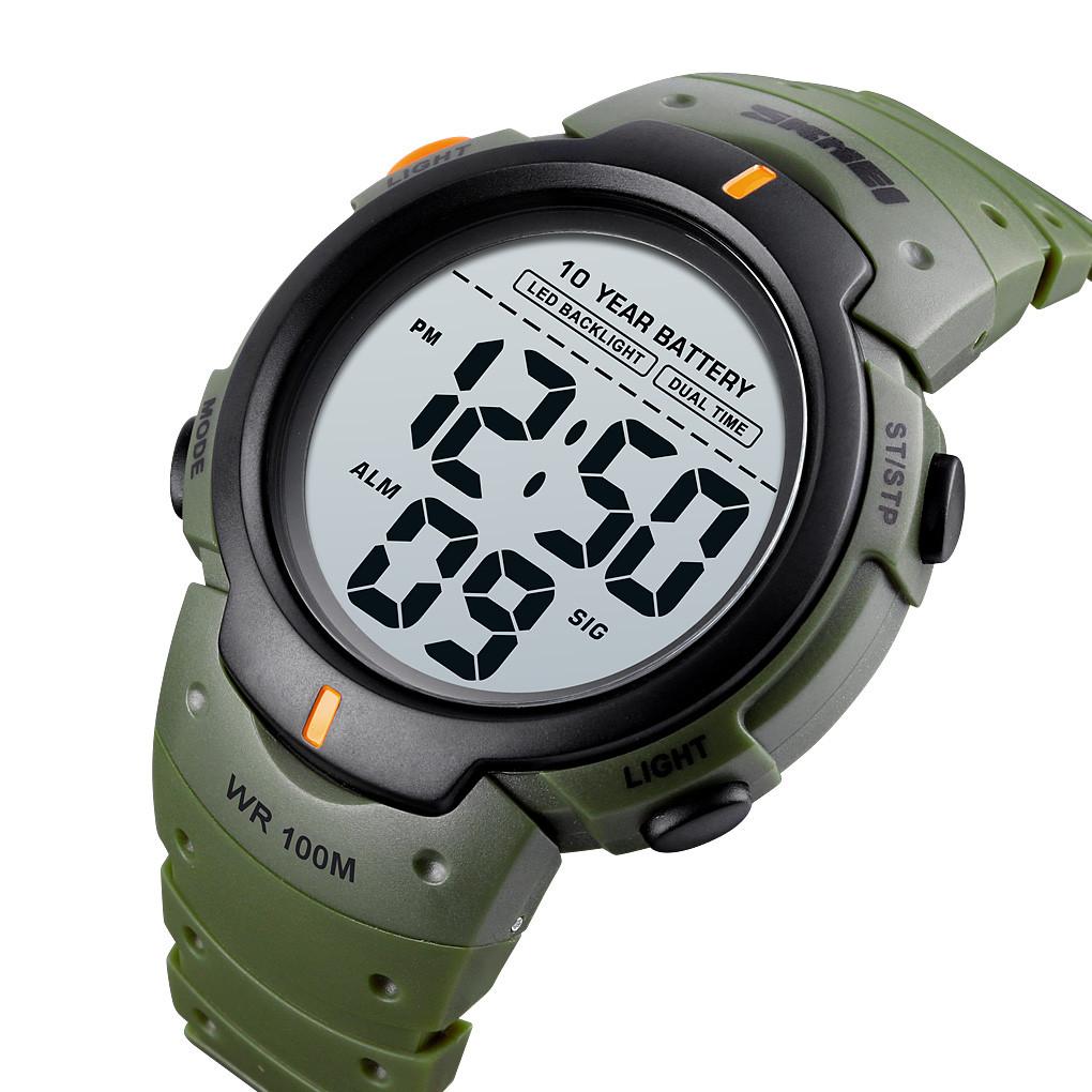 Мужские спортивные часы Skmei 1560 Зеленые