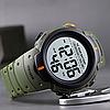 Мужские спортивные часы Skmei 1560 Зеленые, фото 4