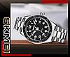 Мужские механические часы скелетон Skmei 9232 серебристые, фото 4