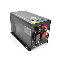 ДБЖ з правильним синусом RITAR RTSWm-MPPT-MPS-6048, 6000W (5700 Вт), 48V, ток заряда 45A, 180-265V, MPPT (60А,