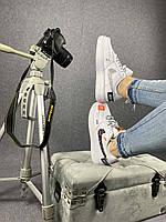 Женские  кроссовки в стиле Nike Air Force 1 x Off-White Low Just Do It Pack, фото 1