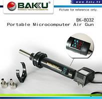Фен BAKKU BK-8032А++, c цифровой индикацией, Box  (252*233*80) 0,7 кг