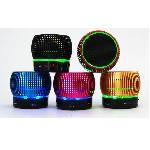 Беспроводной Bluetooth динамик Musik LED Black, mini-USB, 3W, 500mAh, дистанция-10m, Corton BOX