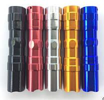 Карманный фонарик 5001-10, 1LED, 1 режим, корпус- алюминий, питание 2*АА, 95*19мм, Silver, ОЕМ