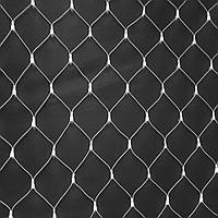 Гирлянды 100LED (Сетка) White, 1,5*1,5 метрa, прозрачная изоляция, BOX