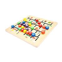 Детская развивающая игрушка Alphabetical pair alignment