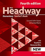 New Headway 4th Ed Elementary: Teacher's Book & Resource Disk Pack
