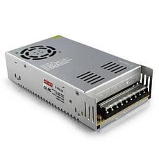 Блок питания адаптер 24V 20A S-500-24 Metall 7432 серый