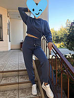 Костюм женский В упаковке 2 шт Размеры s/m, l/xl ‼️Цвета: Чёрный, Серый , синий, розовый, терракотовый от4шт, фото 1