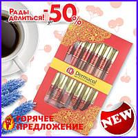 Набор матовых помад и блеск для губ Dermacol DC 12 шт TOP_11-131701