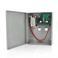 Импульсный источник бесперебойного питания PSU-1018-10А 12V 10А, под АКБ 12V 7-10A, Metal Box  (290*210*95)