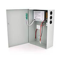 Импульсный источник бесперебойного питания PSU-5121 12V 5А, под АКБ 12V 7-9A или 18-20А, Metal Box