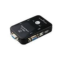 2-портовый KVM свич, переключатель USB