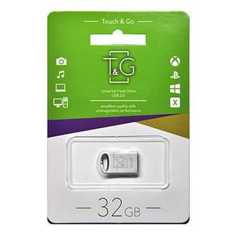 Флешка T&G, серебристая USB 105 32GB MH, фото 2
