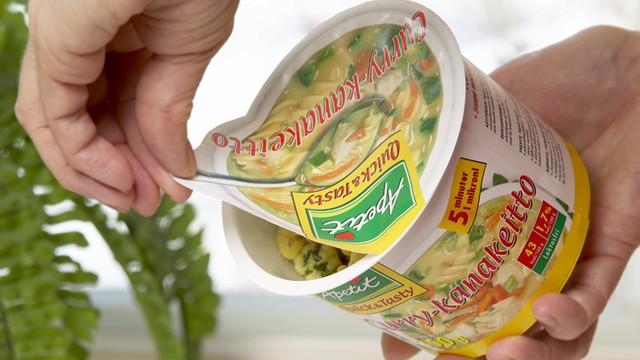 Бумажный крышечный материал Walki Lids для упаковки сухих и нежирных продуктов