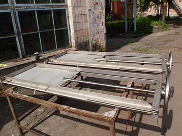 Затвор щитовой из нержавеющей стали, фото 2