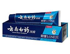 Зубная паста с системой бережного отбеливания зубов Lang Jian+ White 86% Toothpaste, для курящих, 180гр