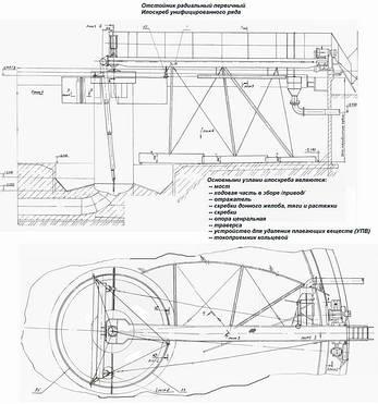 Привод /ходовая часть/ илососа, илоскреба Ø30м, 40м, фото 2