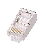 Конектор PiPo RJ-45 8P8C FTP Cat-5 (100 шт/уп.) Q100