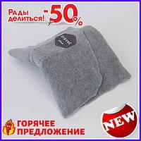Подушка для путешествий Travel pillow Серая TOP_11-187108