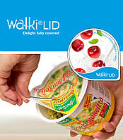 Бумажный крышечный материал Walki Lids для упаковки сухих и нежирных продуктов.