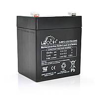 Аккумуляторная батарея DJW12-45 12V 4,5Ah Leoch