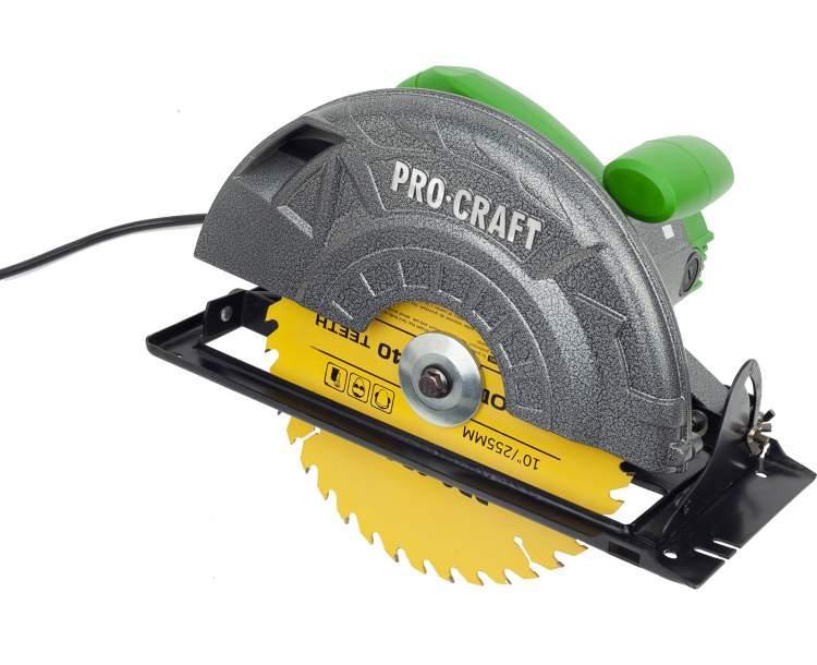 Пила дисковая ProСraft KR-3000 (блокировка редуктора)