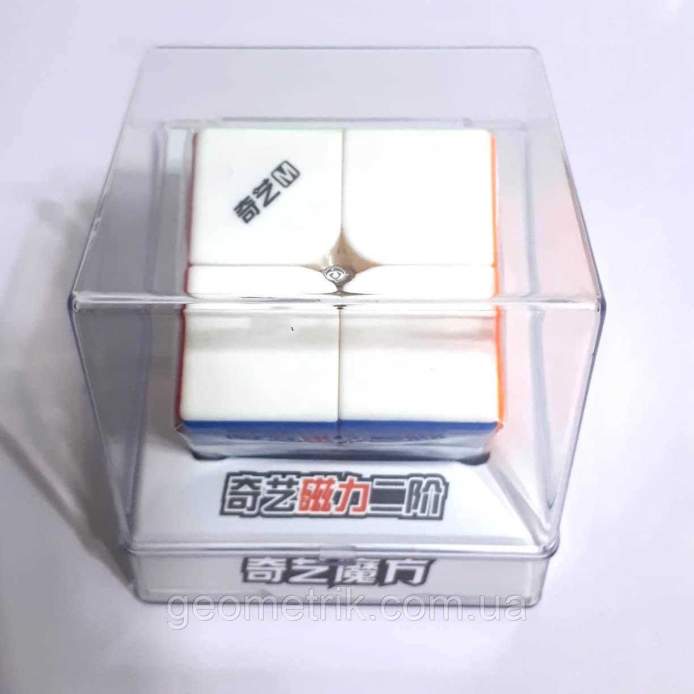 Кубик Рубика 2х2 MS (Magnetic) 0932C-16 (в прозрачном боксе, без наклеек) QiYi