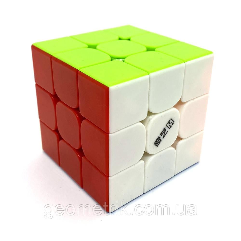 Кубик Рубика 3х3 MS (Magnetic) QY3031 (в прозрачном боксе, без наклеек) QiYi