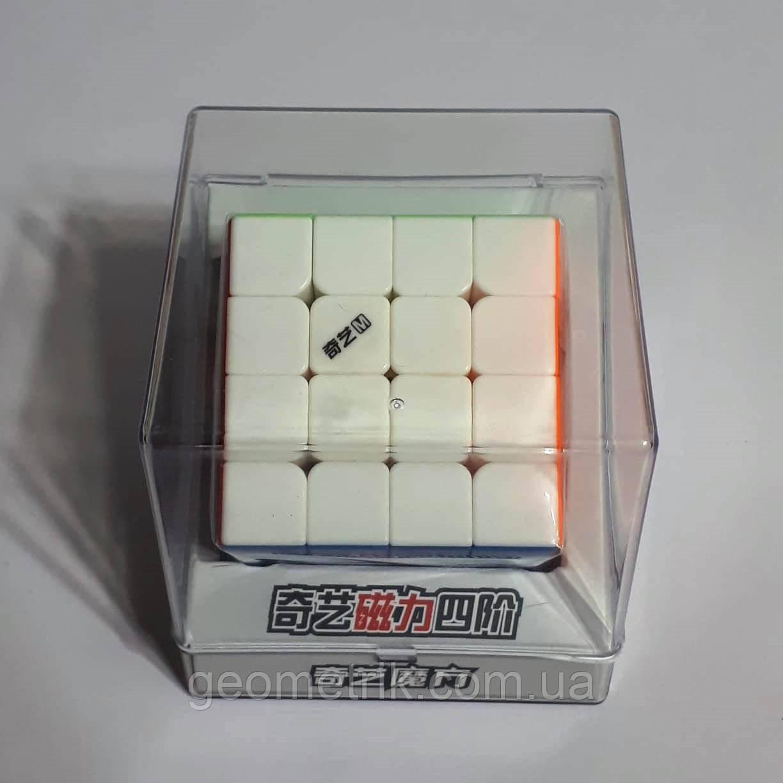 Кубик Рубика 4х4 MS (Magnetic) 0933C-7 (в прозрачном боксе, без наклеек) QiYi
