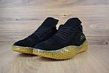 Кроссовки мужские распродажа АКЦИЯ 650 грн Adidas Kamanda черные 43й(27,5см)  последние размеры люкс копия, фото 3