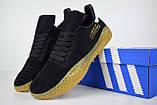 Кроссовки мужские распродажа АКЦИЯ 650 грн Adidas Kamanda черные 43й(27,5см)  последние размеры люкс копия, фото 4