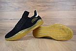 Кроссовки мужские распродажа АКЦИЯ 650 грн Adidas Kamanda черные 43й(27,5см)  последние размеры люкс копия, фото 7