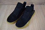 Кроссовки мужские распродажа АКЦИЯ 650 грн Adidas Kamanda черные 43й(27,5см)  последние размеры люкс копия, фото 9