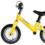 Беговел Maraton Prime (Жовтий) Для дітей з ручним гальмом, фото 3