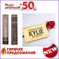 Карандаш для бровей Music Flower и в подарок Набор жидких матовых помад Birthday Edition TOP_11-261280