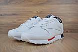 Кроссовки мужские распродажа АКЦИЯ 650 грн Reebok низкие белые 43й(27,5см) последние размеры люкс копия, фото 6