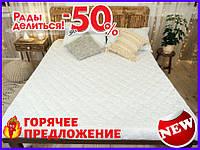Наматрасник с бортами Leleka-Textile 160х200 белый TOP_53-240122