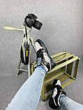 Женские кроссовки в стиле Jordan 1 Retro High Dior черные, фото 4