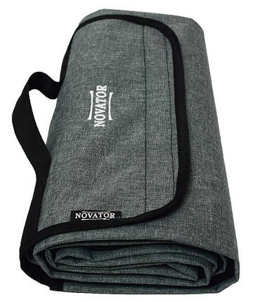 Коврик для кемпинга Novator Picnic Grey 200х150 см, фото 2