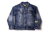 Джинсова куртка для хлопчика S&D 1141 152 см Синій (2000902887998)