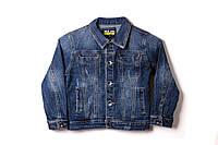 Джинсова куртка для хлопчика S&D 1138 140 см Синій (2000902888070)