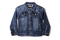 Джинсова куртка для хлопчика S&D 1137 140 см Синій (2000902923740)