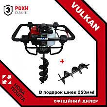 Мотобур Vulkan GD620 2.4 кВт (3.2 л. с) + в подарунок шнек 250мм!