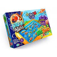 Игра большая 2 в 1 Клевая рыбалка KidSand рус Dankotoys KRKS-01-01 tsi43983, КОД: 314582