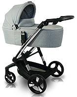 Детская коляска 2 в 1 iBebe i-stop IS6 Chrome Grey, фото 1