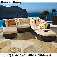 Диван модульный Стелла, мебель для бассейна, мебель для сауны, мебель для ресторана, для веранды