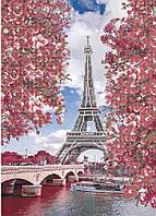 Схема для  вышивки бисером Весенний париж
