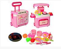 Детский игровой набор Кухня 3605A Bambi в чемодане М-6903317126811, КОД: 1717901