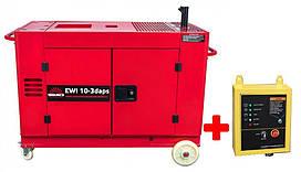 Генератор  дизельный  Vitals  Professional  EWI  10-3daps  +  блок  ATS
